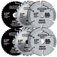 2 Rockwell Rw9232k Versacut 3-piece Circular Saw Blade Set on sale