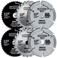 2 Rockwell Rw9232k Versacut 3-piece Circular Saw Blade Set