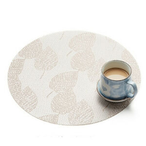 Details About Round Place Mats For Kitchen Table Heat Resistant Dinner Placemats Ma