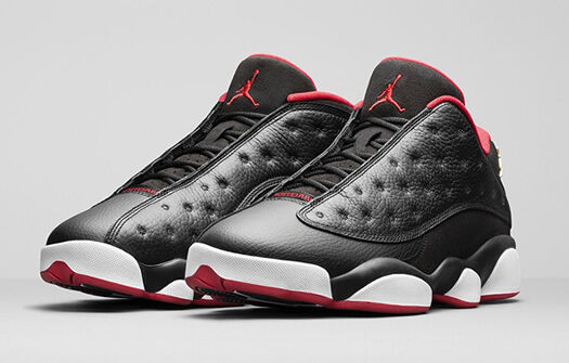 best cheap 27474 30ee4 Nike Air Jordan Retro 13 XIII Low Playoff Bred 310810-027 Size 12 for sale  online   eBay