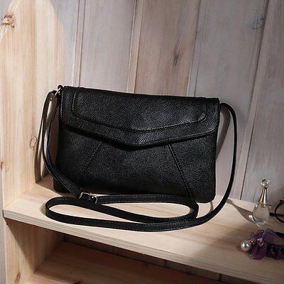 Fashion Womens PU Leather Crossbody Satchel Shoulder Messenger Bag Purse Handbag