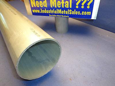 """4"""" OD x 3-3/4"""" ID x 36"""" x 1/8"""" Wall 6061 Aluminum Round Tube-->4.0"""" OD x .125""""w"""
