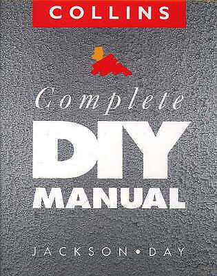 Collins Complete DIY Manual by David Day, Albert Jackson (Hardback, 1993) Mint