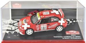 Voiture-Miniature-1-43-Rallye-Monte-Carlo-039-03-Toyota-Corolla-WRC-Burri-amp-Hofmann-ALTAYA