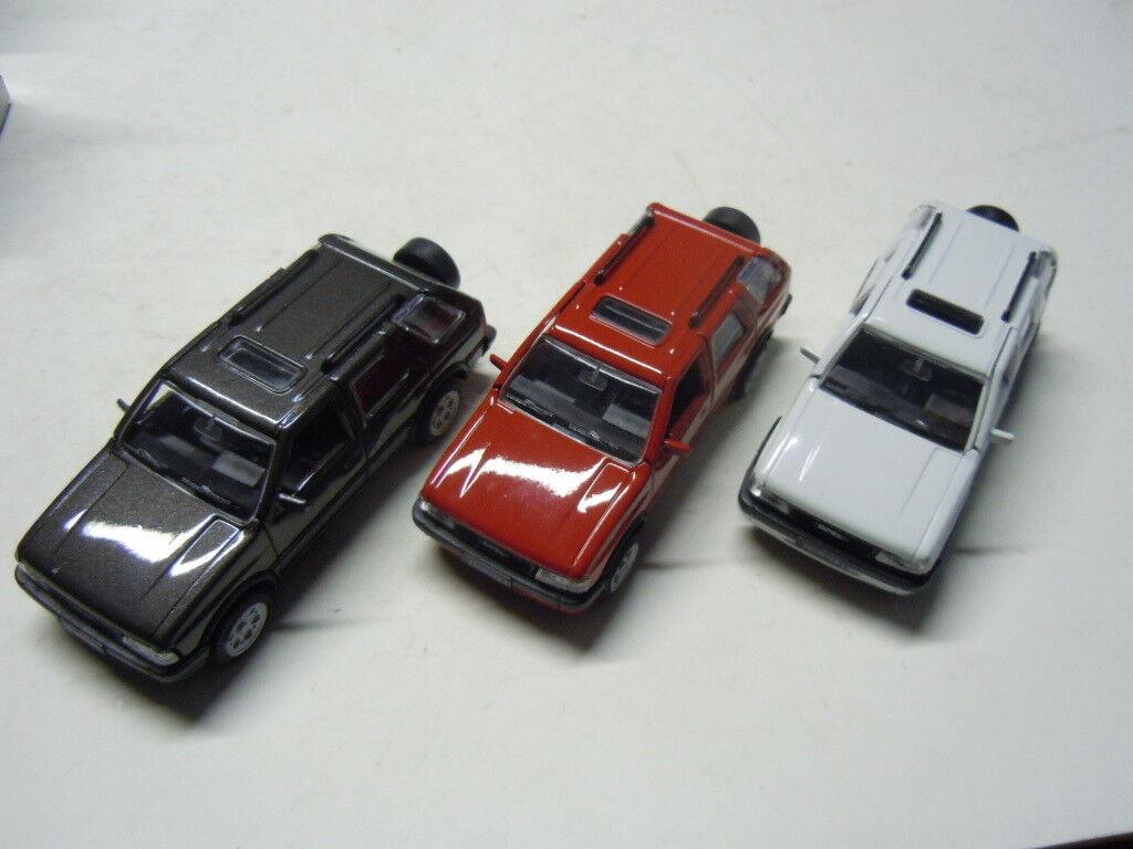3 RARE OPEL Frontera 4 x 4 modèles modèles modèles de Gama en 1 43 neuf dans sa boîte NEUF 455af0
