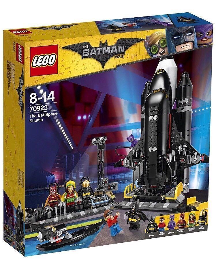 LEGO BATMAN MOVIE BAT SPACE SHUTTLE - LEGO 70923