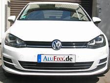 2 x AluFixx Car Basic schwarz matt eloxiert VW Golf 7 / VII auch R-Line und R32
