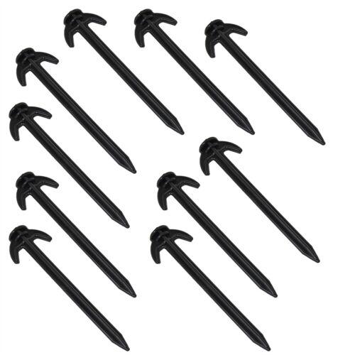 10x Hering für Netze Bodenanker Netzanker Netzhalter Zeltnagel Zeltheringe Netz