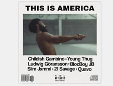 Z2113 This is America Childish Gambino Hot Music Album Silk Poster 36x24 40x27