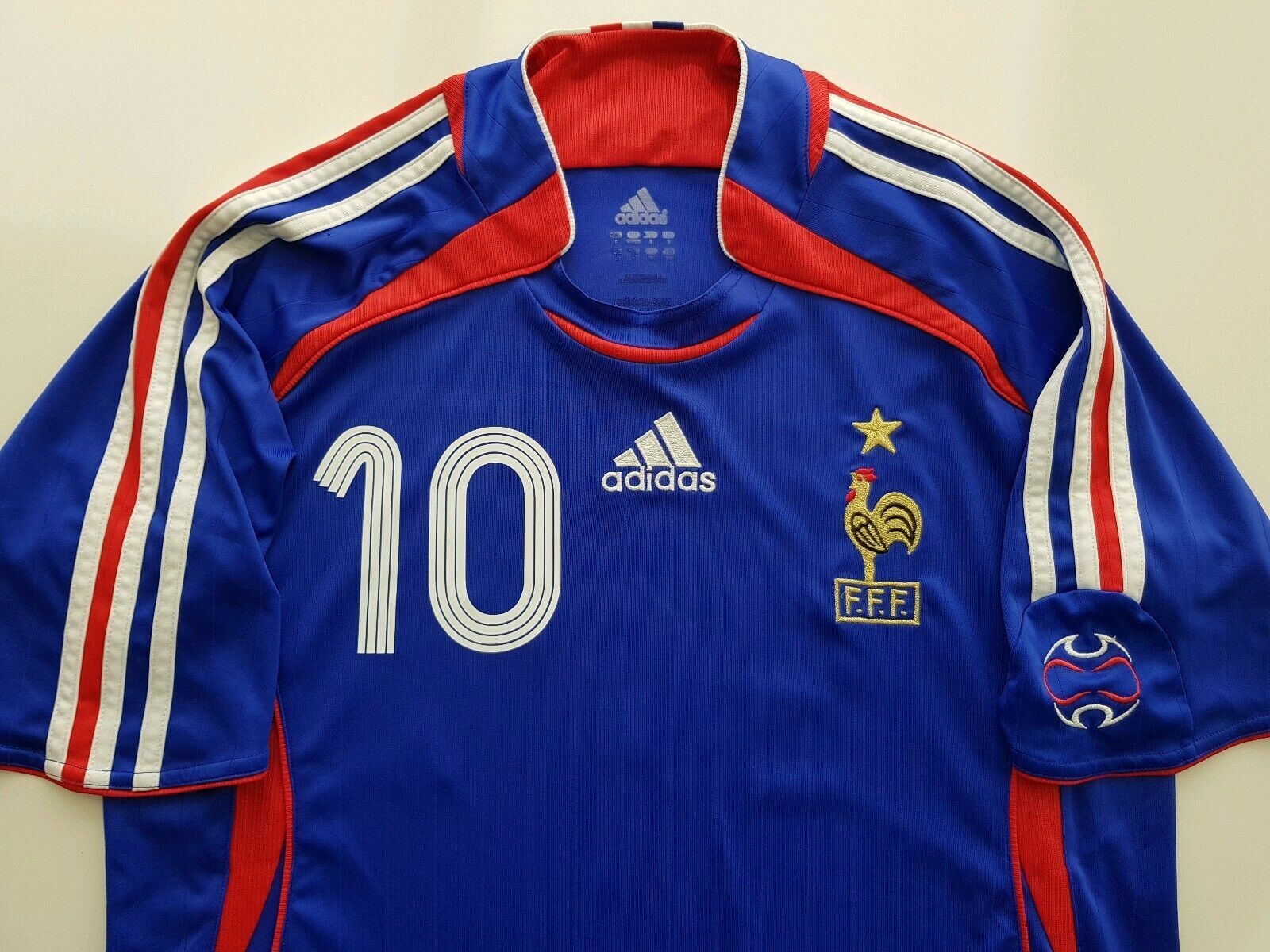 Camiseta Francia 2006 France shirt Zidane maillot jersey S Real Madrid