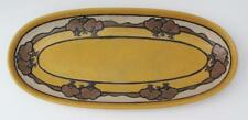 S.E.G. Saturday Evening Girls Fannie Levine Oval Trees Relish Dish Pottery