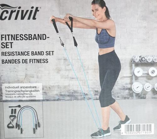 Bracelet connecté Set avec 3 Fitness bandes différentes Résistance renforcer/% Action/%