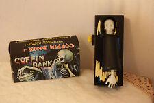 HORROR Salvadanaio Bara con scheletro - Coffin Bank