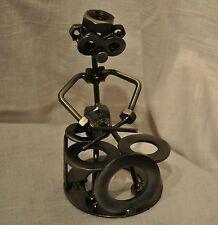 Drummer Metal Nuts and Bolts Musician Figurine Music Gift
