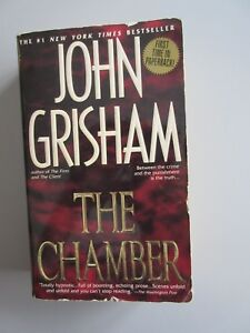 THE-CHAMBER-by-John-Grisham-1995-Island-Books-by-Dell-Paperback-FIRST