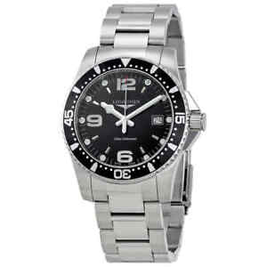 Longines-HydroConquest-Black-Dial-Men-039-s-Watch-L37404566
