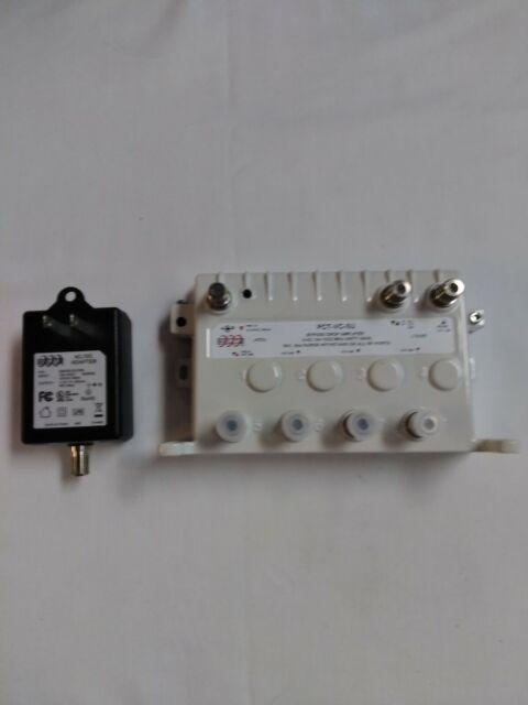 PCT 9 Port Bi-Directional Bypass Cable TV Drop Amplifier w//Unity Gain PCT-VC-9UN