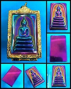 Phra-Somdej-Leklai-7-Color-LP-TOH-Wat-Phra-Kaew-Thai-Amulet-Buddha-Pendant-K1079