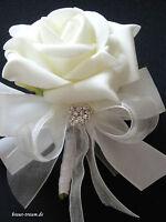 Hochzeitsanstecker für den Bräutigam oder Trauzeugen, Braut, Brautstrauss