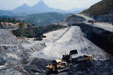 801009 la construcción de carreteras cerca de Ipoh Malasia A4 Foto Impresión