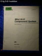Sony Bedienungsanleitung CHC P33D Mini Component System (#1352)
