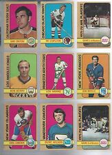 1972-73 O-Pee-Chee OPC Finish Your Set - VG to EX and better LOW SHIPPING