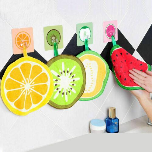 Frucht form Hängend Mikrofaser Handtücher Quick-Dry Y4A5 W6J7 Reinigung Rag R4G4