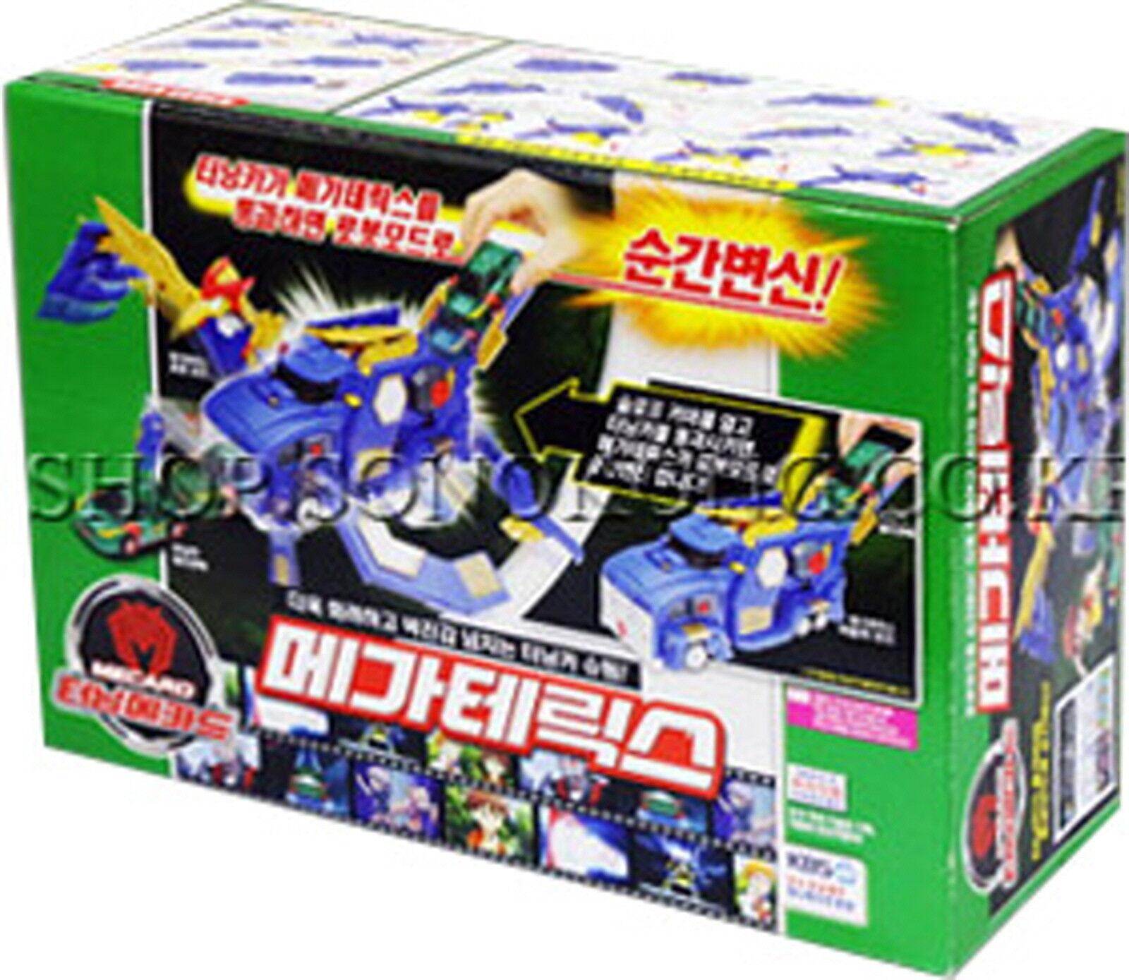 Turning Mecard W MEGA TERICS Transformer CAR Robot Toy Korea Animation Character