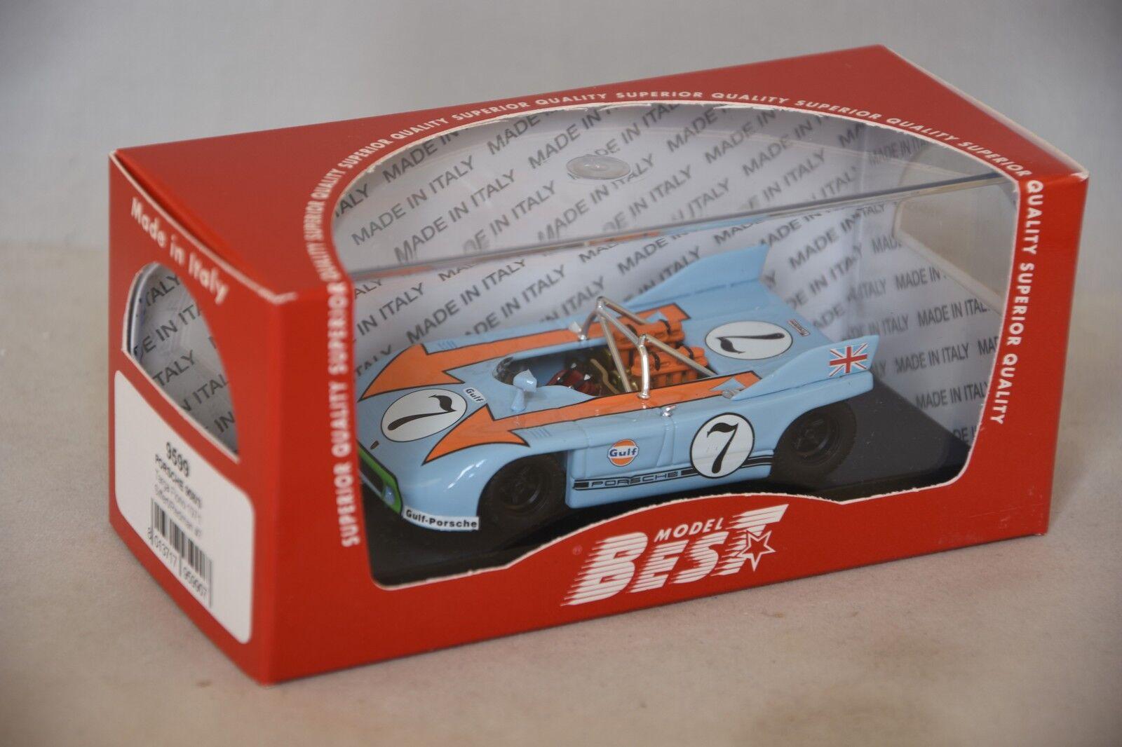 Best MODEL 9599 - Porsche 908-3  7 Targa Florio - 1971  Siffert  1 43