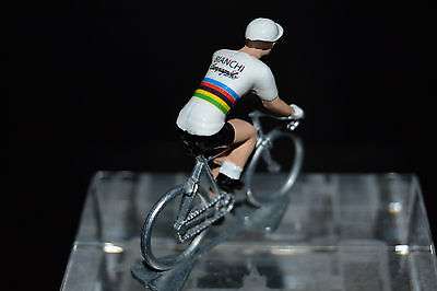 Premuroso Gimondi Champion Du Monde Bianchi - Petit Cycliste Figurine - Cycling Figure Disabilità Strutturali