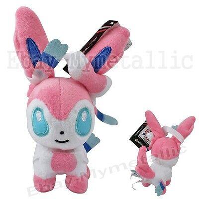 "Pokemon XY Sylveon 18cm / 7.2"" Plush Stuffed Doll Toy Small #700"
