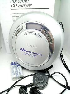 Sony-D-EJ625-CD-Walkman-Discman-Personal-Stereo-Music-Compact-Disc-Player-Silver