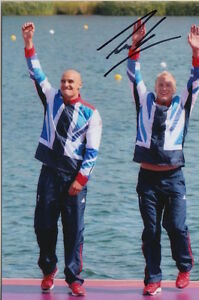 London 2012 Useful Jon Schofield Hand Signed Great Britain Olympics 6x4 Photo 6.