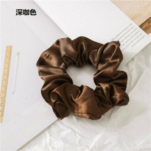Newly Ponytail Scarf Bow Hair Rope Tie Scrunchies Ribbon Elastic Hair Bands HS