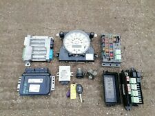 BMW MINI ONE COOPER R50 1.6 SIEMENS ENGINE ECU BCM KEY IGNITION LOCK SET 04-06