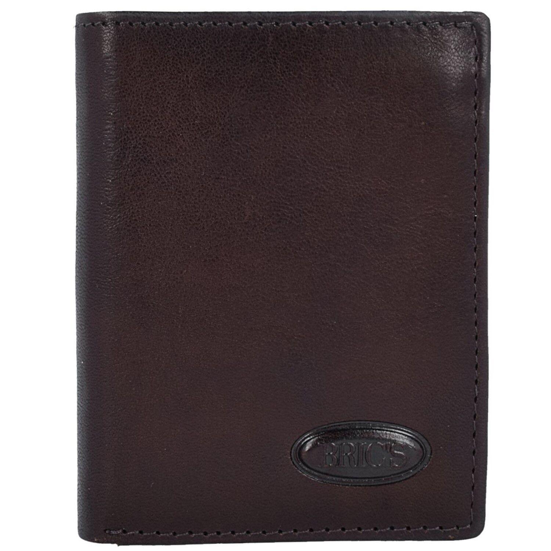 Bric's Monte Rosa Brieftasche Geldbörse Scheintasche RFID Leder 7,5 cm (mGold)   Beliebte Empfehlung