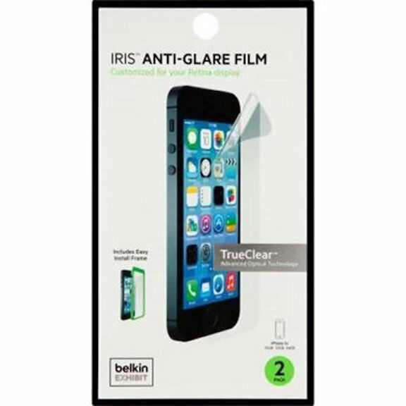 Belkin Iris Anti Glare Film With Easy Install Frame For Iphone 5s