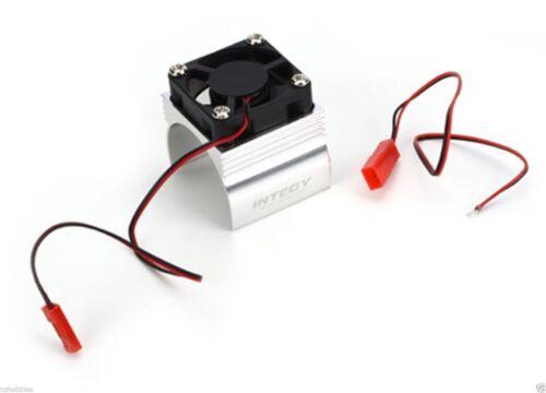 Integy # C23140Silver Super Brushless Motor Heatsink+Cooling Fan 540 Size