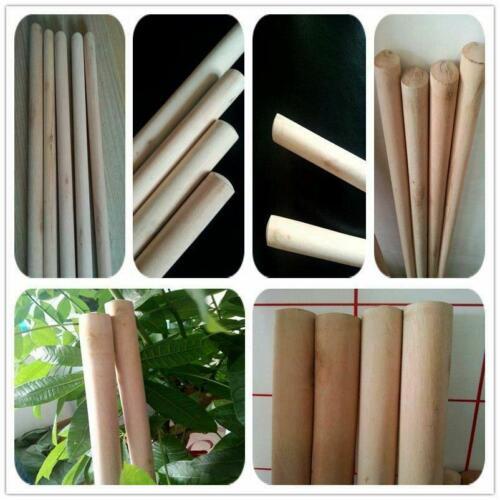 Wooden Broom Handles Shaft 5 Feet For Sweeping Brush 150Cm x 28mm Quantity 5