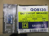 Square D Qob130, 30 Amp 1 Pole 120 Volt Circuit Breaker-