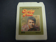 Charley Pride,The Happiness of having You,8 Track Tape,Tested,Signs of Love