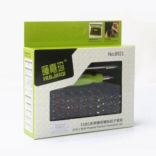 53 in 1 multi-purpose precision magnetic Screwdriver set for iphone Repair tool