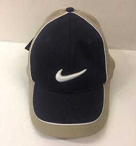 79f7ec409e4 Gift Nike Golf DRI FIT Cap Hat Adult Unisex Men s Blue Beige