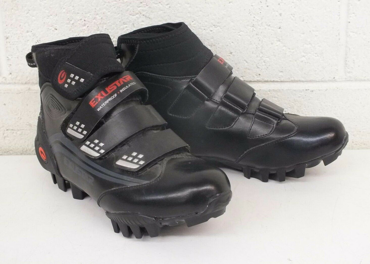 Exustar E-SM343 Cold Weather High-Top Mountain Bike Cycling shoes US 7 40 NEW