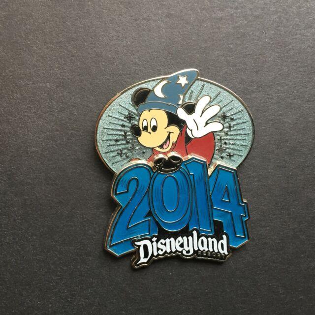 2014 Walt Disney World Retro Logo - Sorcerer Mickey Mouse Disney Pin 99184