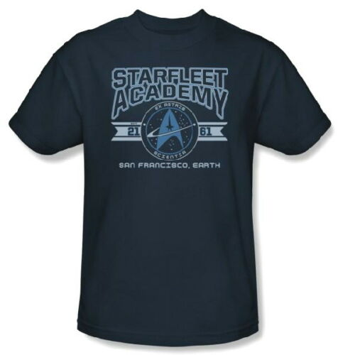 Classic Star Trek Starfleet Academy Earth 2161 T-Shirt 3X NEW UNWORN