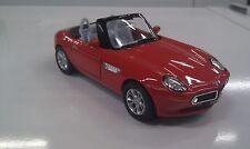 BMW Z8 rojo kinsmart modelo juguete 1/36 escala coche de metal regalo abierto
