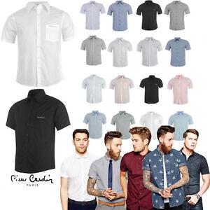 Camicia-Uomo-Pierre-Cardin-Polo-Maniche-Corte-Collo-Maglia-T-shirt-Jean-Pr2