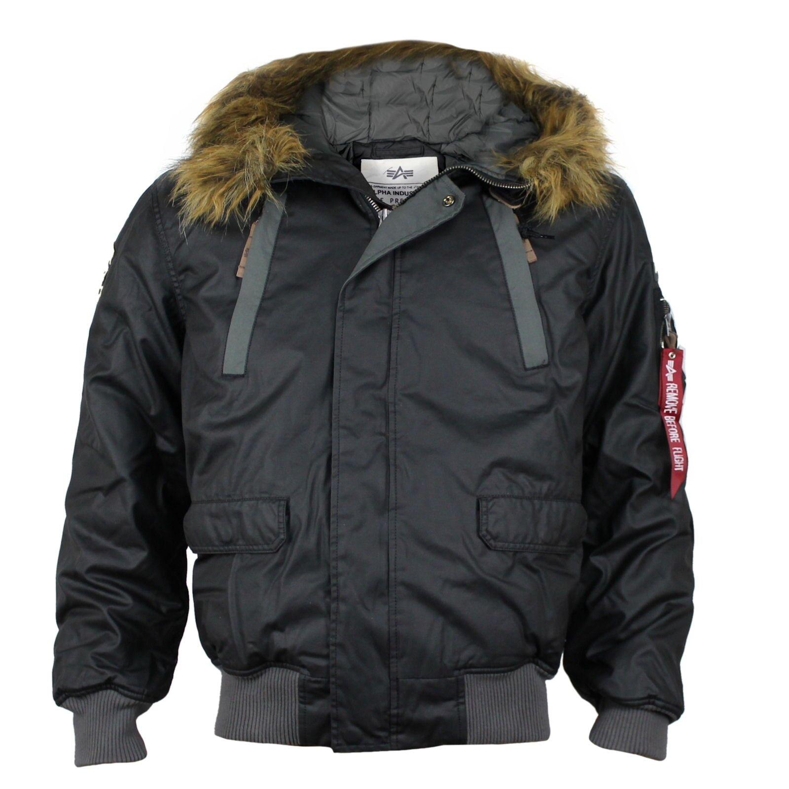 ALPHA INDUSTRIES Winterjacke Mountain Jacket negro