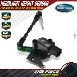 Headlight-Level-Height-Sensor-Front-Right-for-Audi-A6-A8-S6-S7-S8-4H0941286G